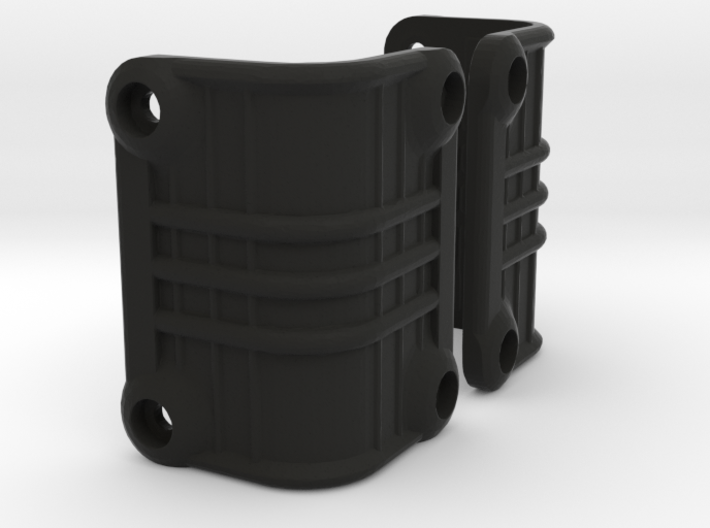 Ascender K5 Blazer Rear Light Bucket Covers (STL) 3d printed