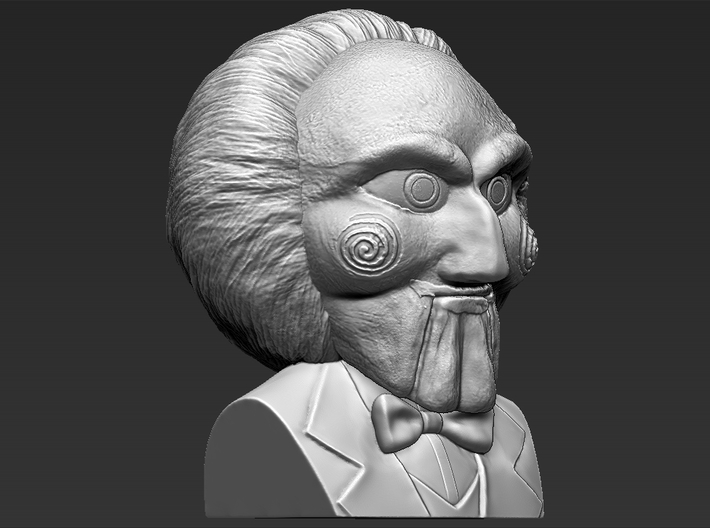 Billy The Puppet from Saw movie bust 3d printed