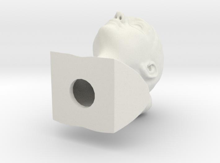 Monica Bellucci bust 3d printed