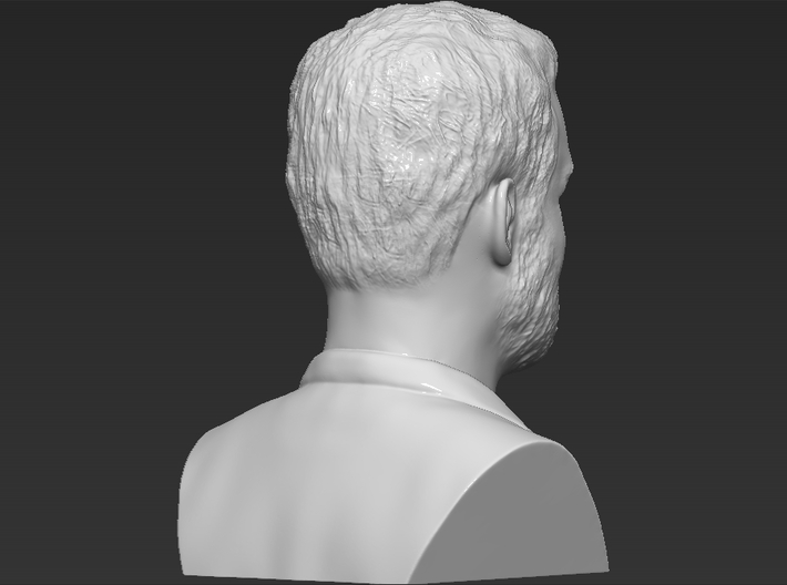 Prince Harry bust 3d printed