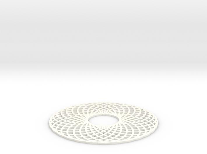 Spirograph Coaster 3 3d printed