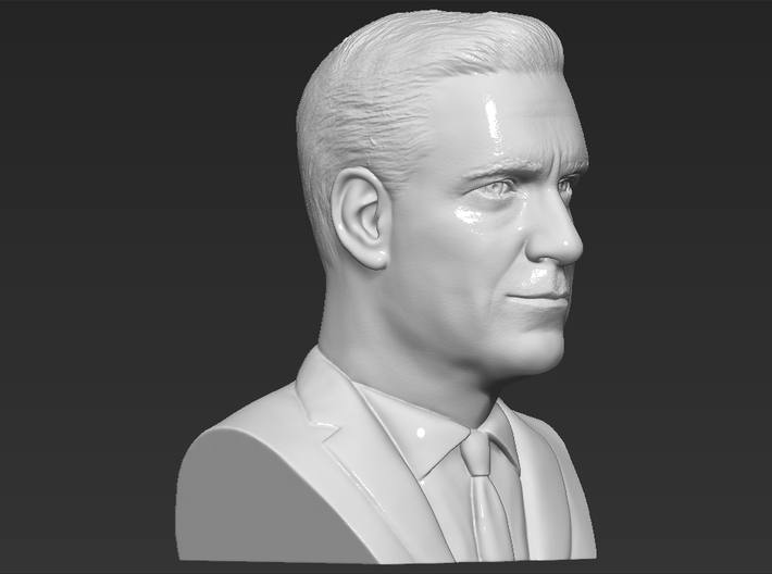 Don Draper Mad Men bust 3d printed