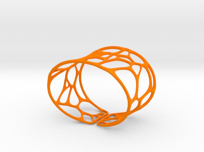 Bracelet Voronoi II  3d printed