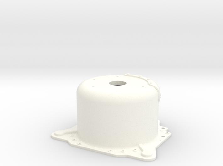 "1/12 Lenco 9.4"" Dp Bellhousing (No Starter Mnt) 3d printed"