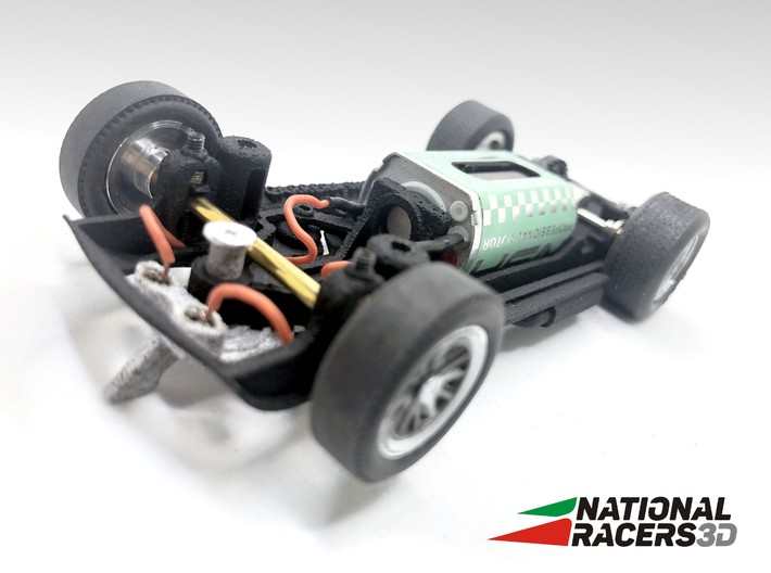 Chassis - Carrera Shelby Cobra 289 (In-AiO) 3d printed