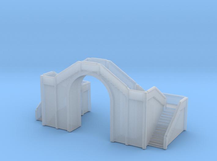 Railway Foot Bridge 1/1000 3d printed