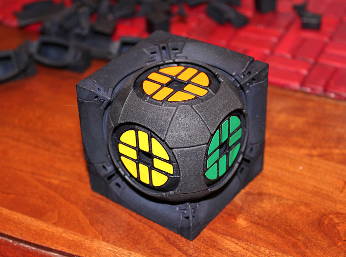 Window Real5x5x5 3d printed Another partial assembly picture