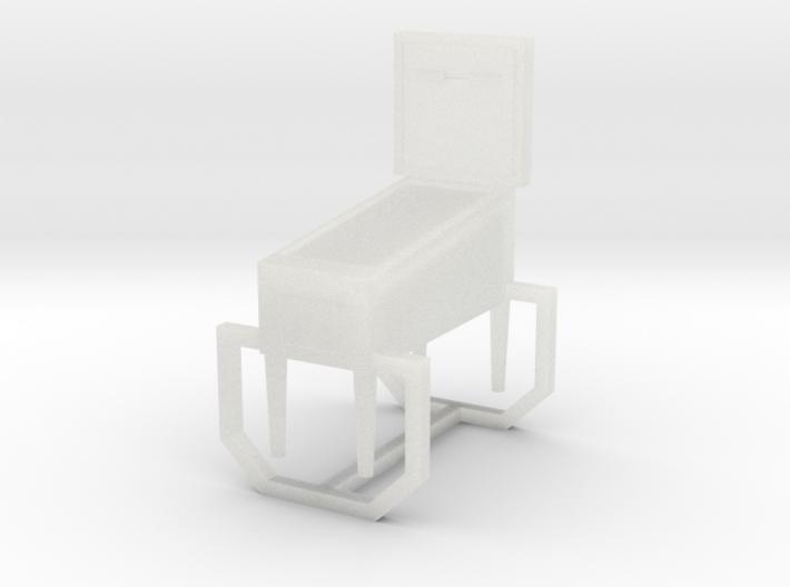 O-Scale Pinball Machine 3d printed