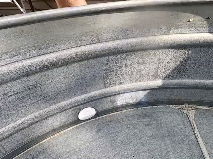 Inlet Strainer Replacement for Stock Tank Pools 3d printed