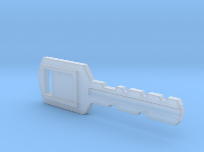 Resident Evil Backdoor Key 3d printed