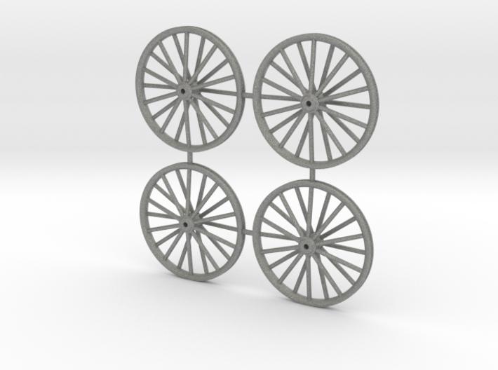 18mm N Gauge Colliery Winding Gear 3d printed
