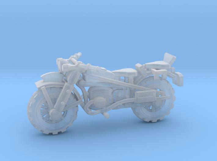 28mm WW2 style Motorbike model-2 3d printed
