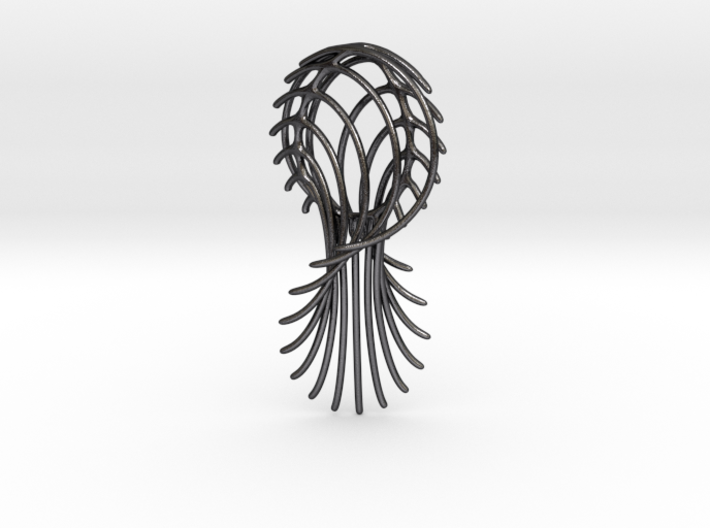 Abstract 2 Pendant 3d printed