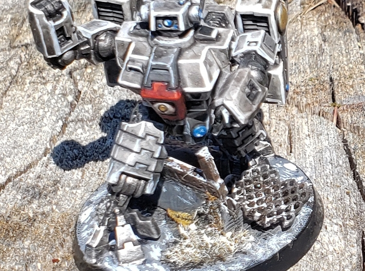 Expanded Metal Bits For Miniature Bases or Terrain 3d printed