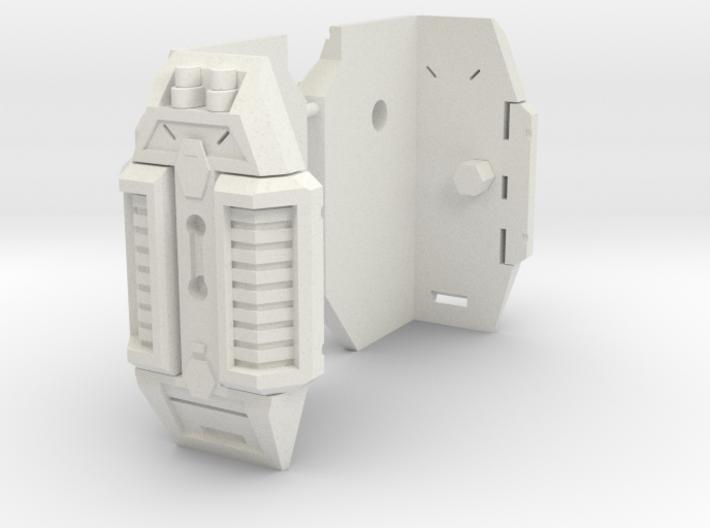 TF CW Shuttle Torso Thigh Armor 3d printed