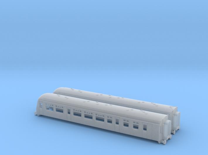 class 101 2-car set - 1-220 - Z Gauge 3d printed