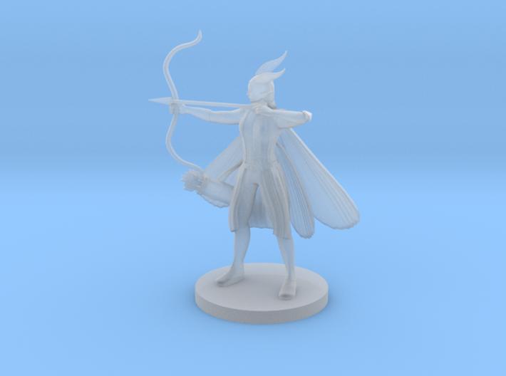 Arch Fey Female with Quiver 3d printed