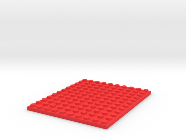 Toy Brick 10x12 Plate 3d printed
