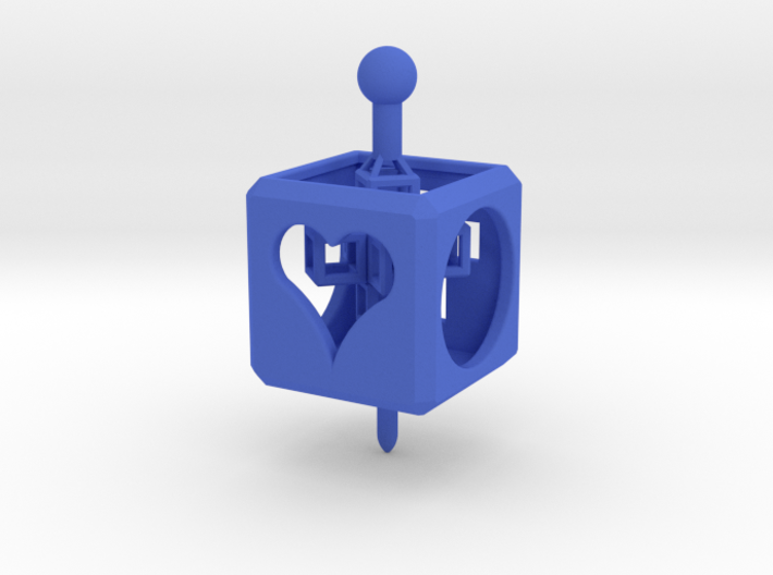 TOY Spinner/Top with Cross Inside 3d printed