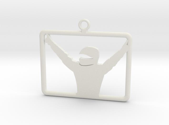 iRacing Keychain 3d printed