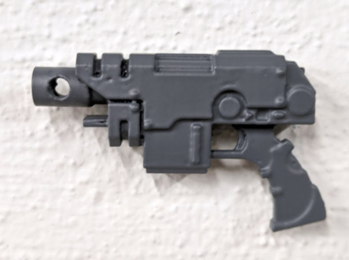 PRHI Large Weapon Gun Grip Sprue 3d printed