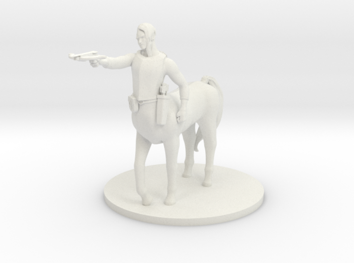 Centaur Male Sorcerer with Crossbow 3d printed