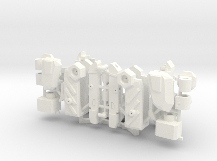 Workroid Arms 3d printed