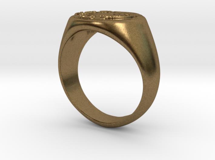 Size 6 Targaryen Ring 3d printed