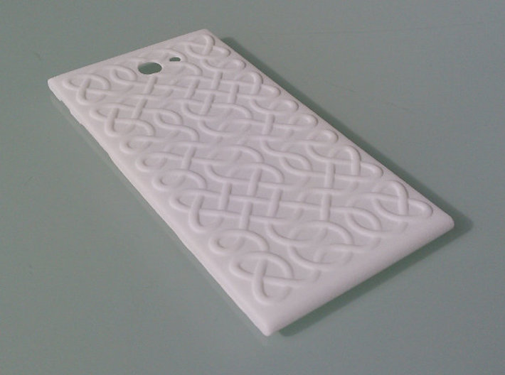 The Other Side Celtic Knots for Jolla phone 3d printed