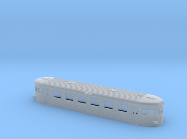 Swedish railcar Y6 / Y7 N-scale 3d printed