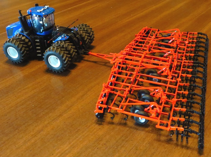 Kuhn Krause TL6200 Soil Finisher 3d printed Painted by client