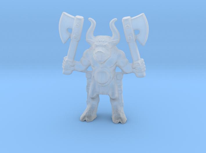 Beastman 28mm miniature classic 2 axes games rpg 3d printed
