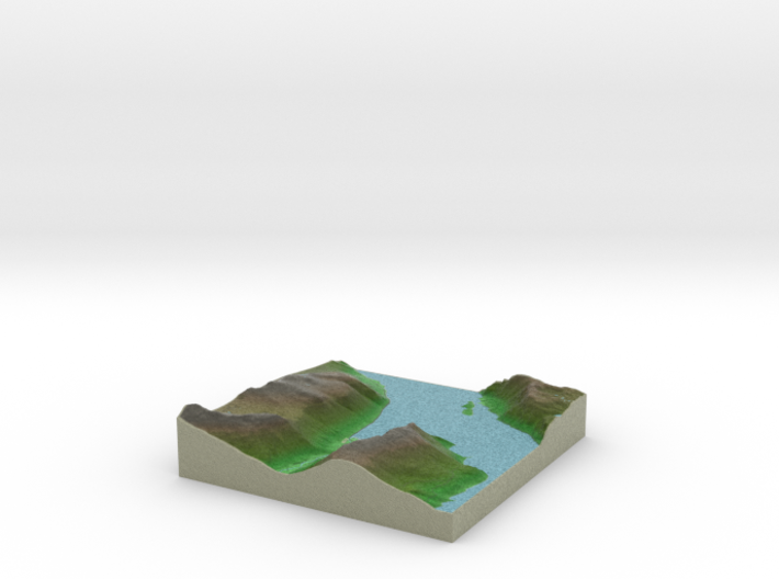 Terrafab generated model Wed Aug 06 2014 15:36:24 3d printed