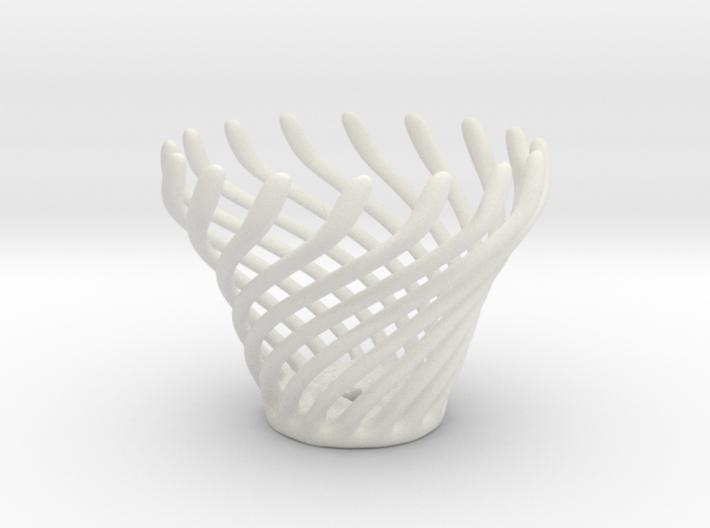 Swirly Fun Egg Cup 3d printed