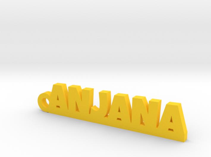 ANJANA_keychain_Lucky 3d printed