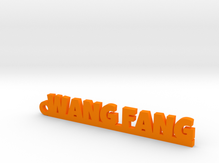 WANG FANG_keychain_Lucky 3d printed