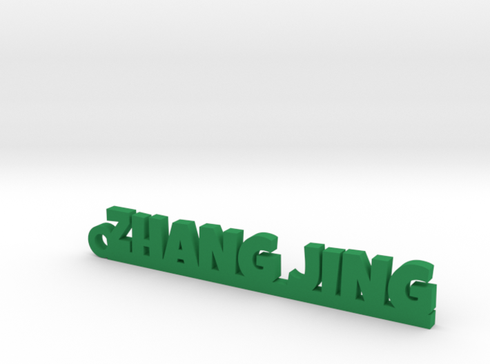 ZHANG JING_keychain_Lucky 3d printed