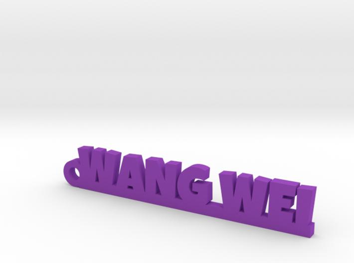 WANG WEI_keychain_Lucky 3d printed
