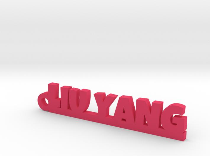 LIU YANG_keychain_Lucky 3d printed