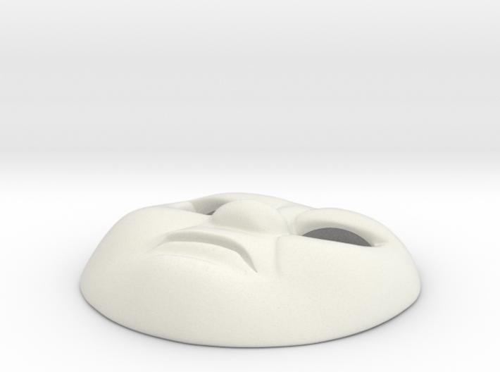 HO Thomas Face #6 - Angry 3d printed
