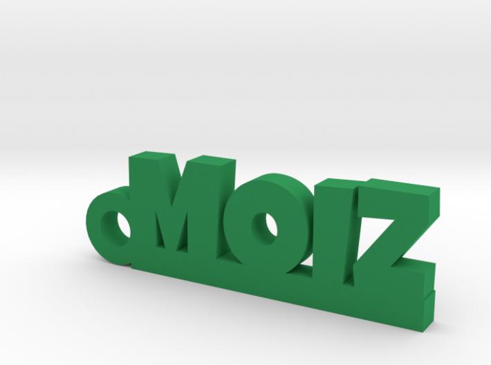 MOIZ_keychain_Lucky 3d printed