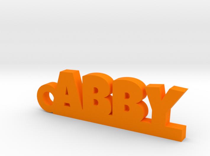 ABBY_keychain_Lucky 3d printed