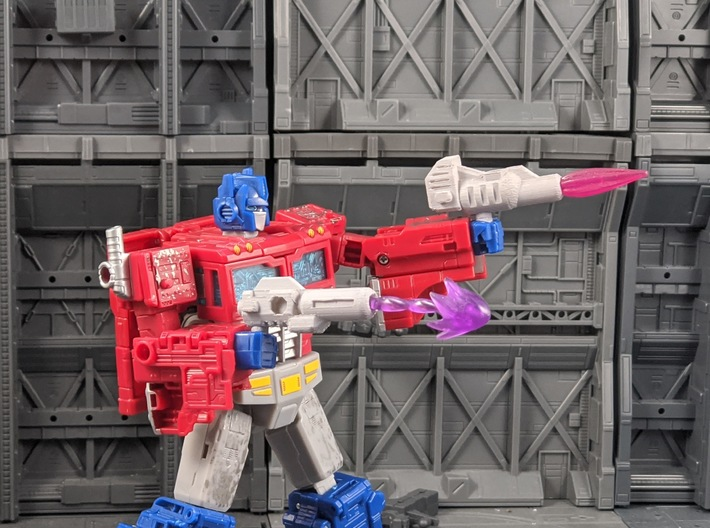 TF CW Combiner Blaster for Prime 3d printed