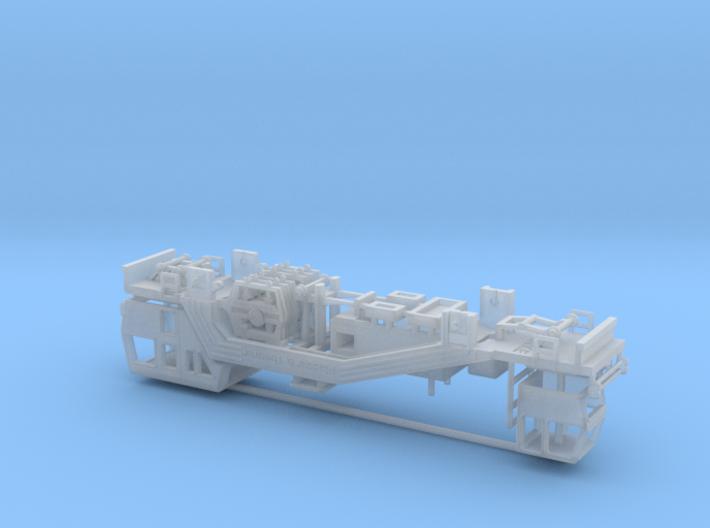 1:160 Plasser Theurer 08 19 Gleisstopfmaschine DB 3d printed