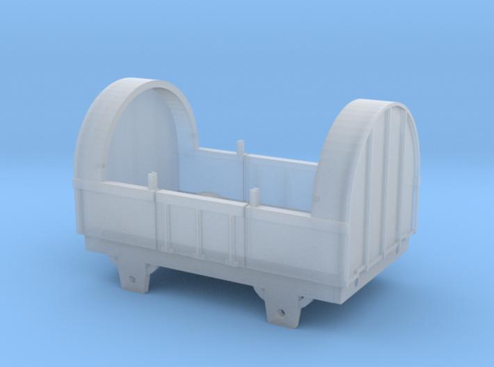 Broad Gauge Tilt Truck (N Scale) 3d printed