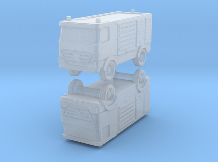 Mercedes Actros Fire Truck (x2) 1/285 3d printed