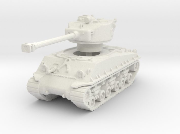 M4A3E8 Sherman 76mm 1/100 3d printed