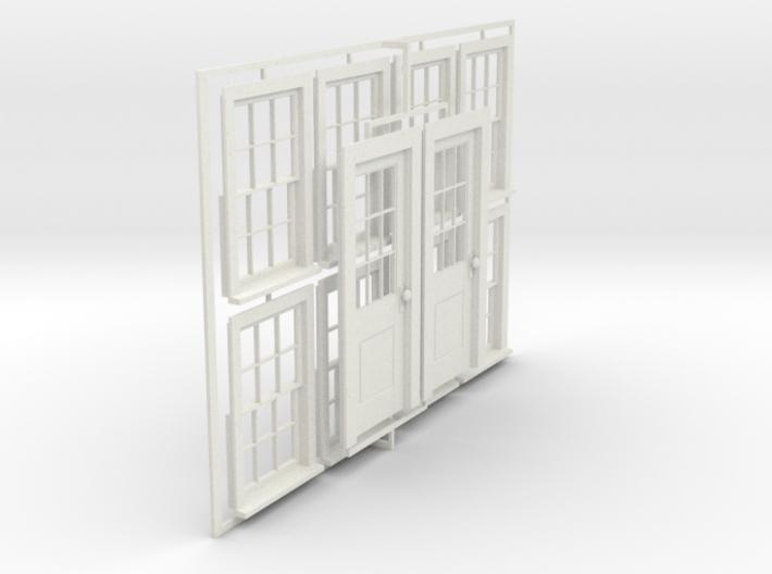 CPR standard No. 5 doors & No.8 windows 3d printed