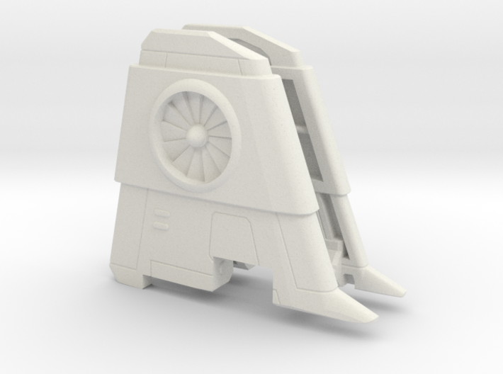 Thrust Wings for POTP Dreadwind 3d printed