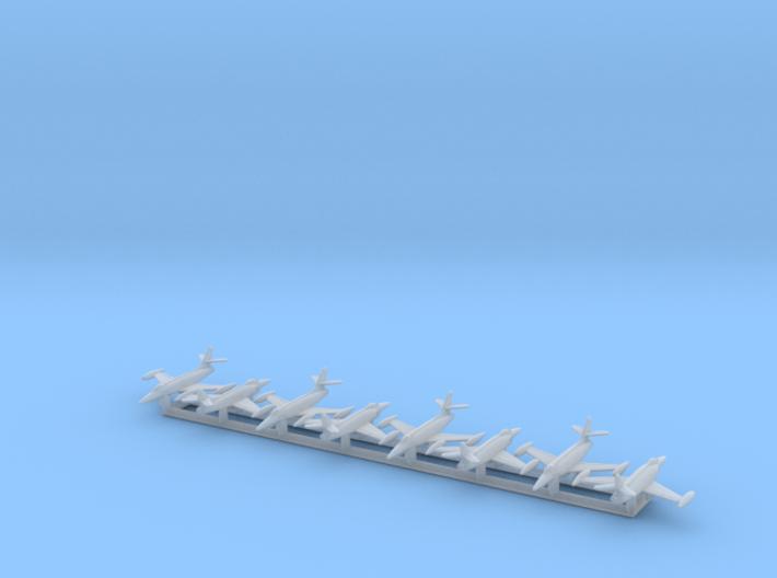 XF-90 w/Gear x8 (CW) 3d printed